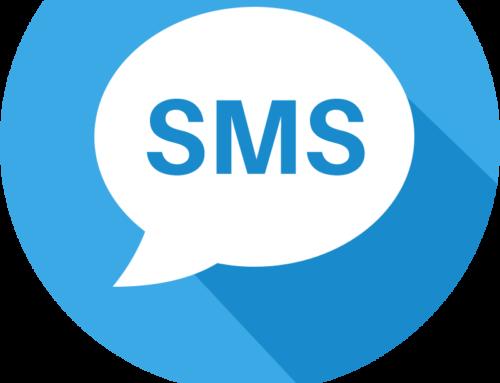 SMS e area personale